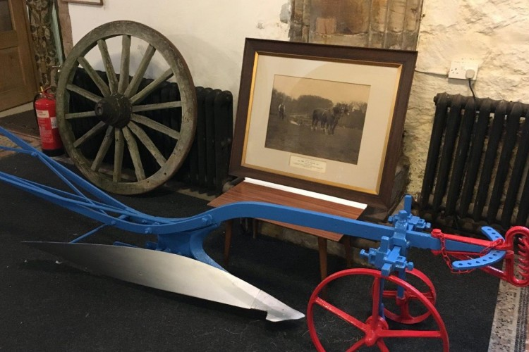All England championship plough to local church